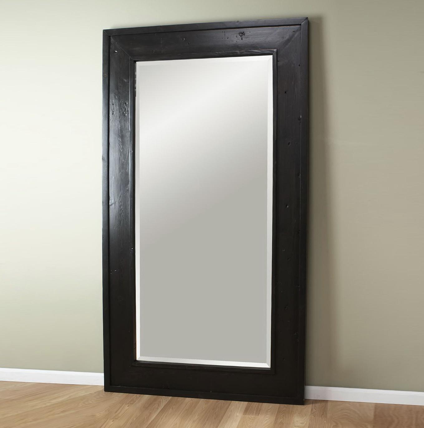 Large Leaning Floor Mirror Home Design Ideas