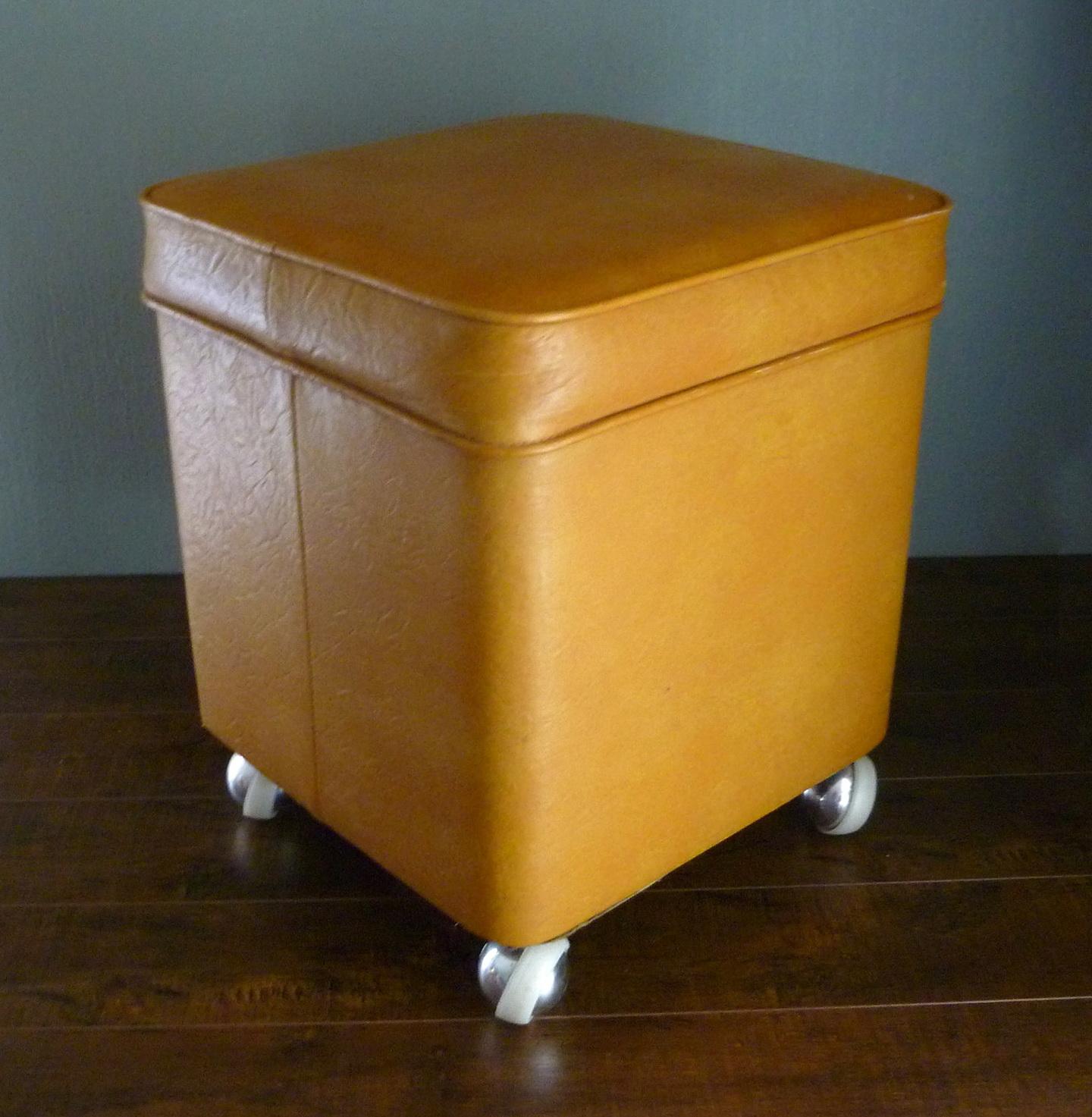 Small Storage Ottoman On Wheels Home Design Ideas