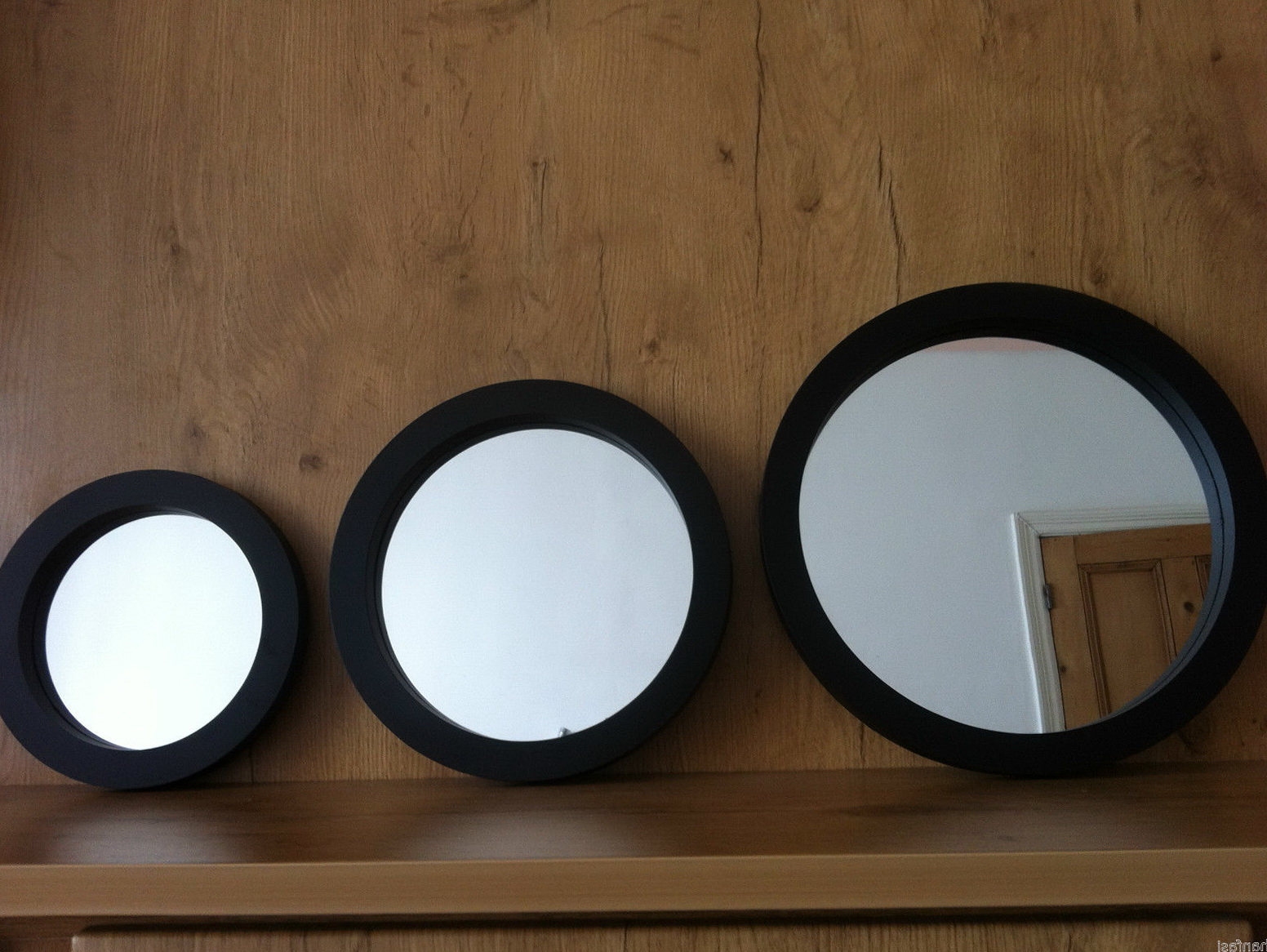 Set Of 3 Round Wall Mirrors Home Design Ideas