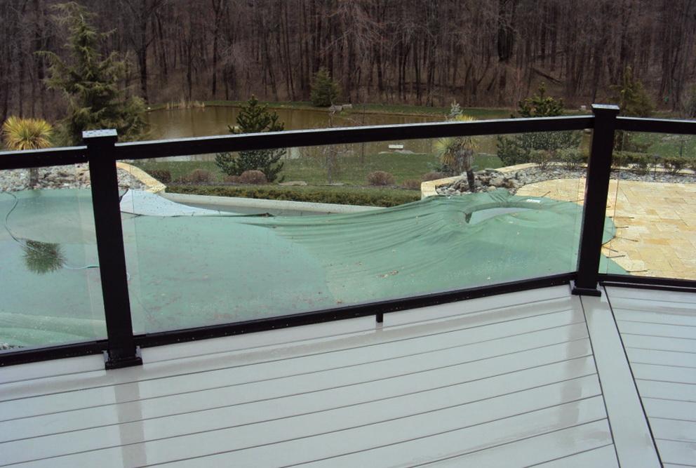 Glass Deck Railing Systems Home Design Ideas