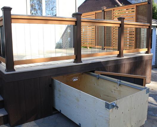 Under Deck Storage Drawer Home Design Ideas