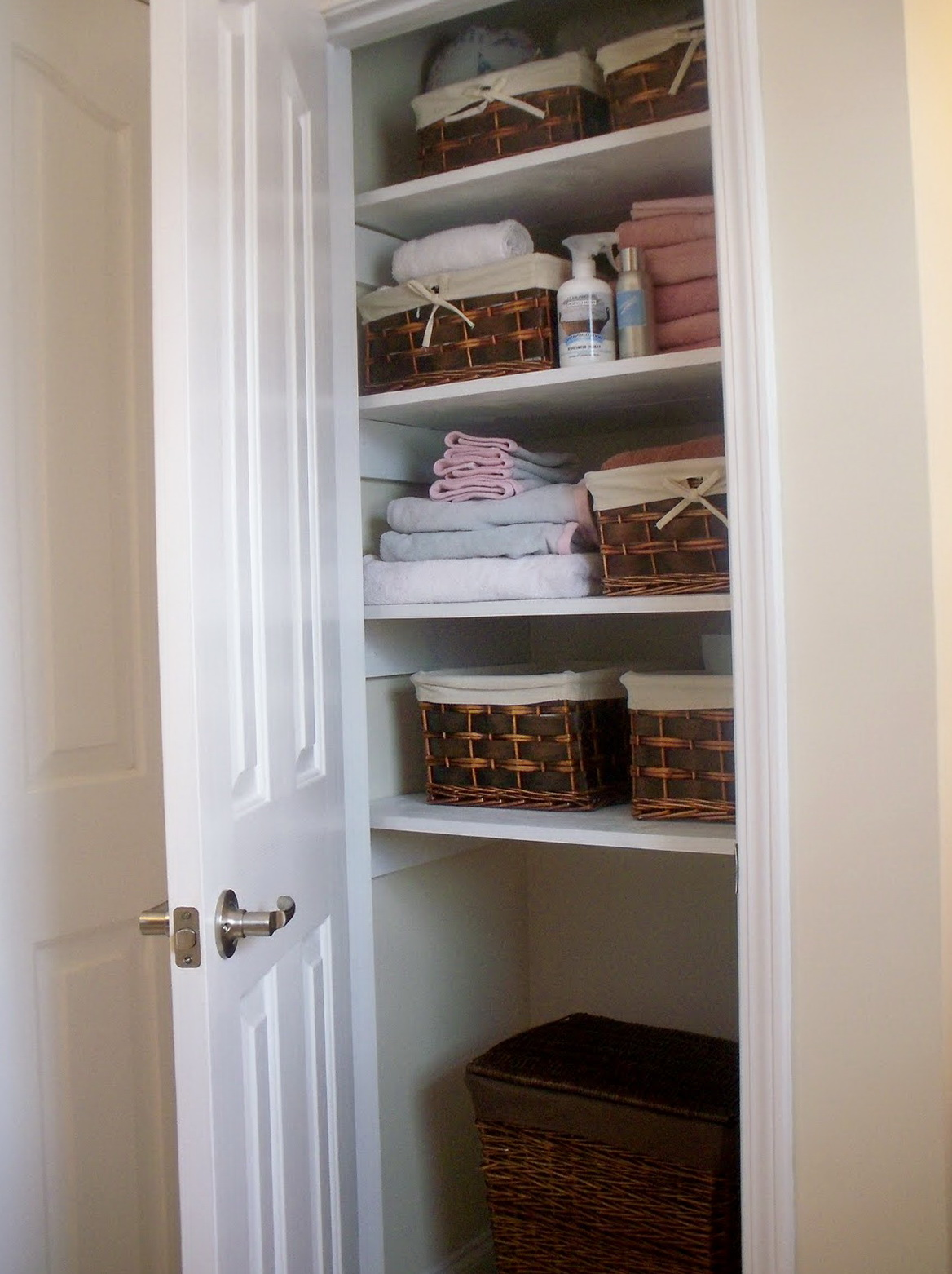 Deep Linen Closet Ideas Home Design Ideas