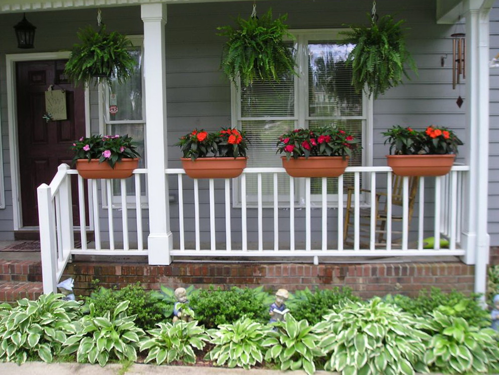 Deck Railing Planter Plans
