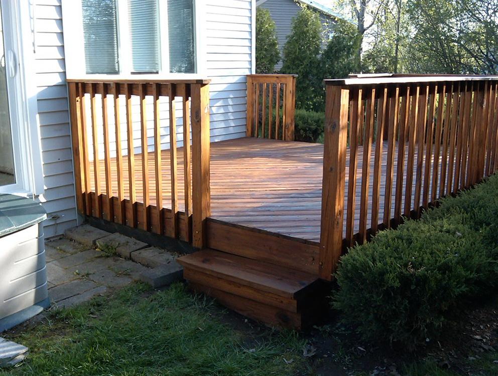 Small Wood Deck Ideas Home Design Ideas
