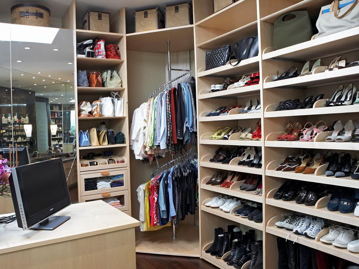 Closet Corner Shoe Rack Home Design Ideas