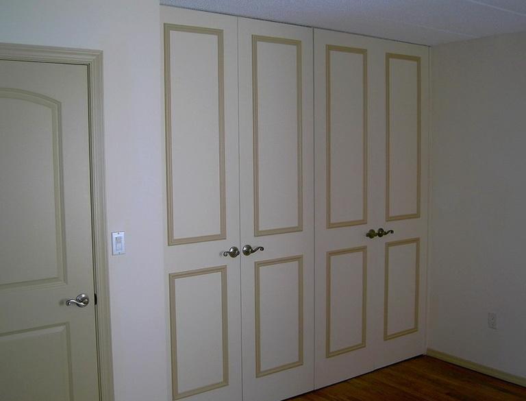 Closet Doors For 8 Foot Opening Home Design Ideas