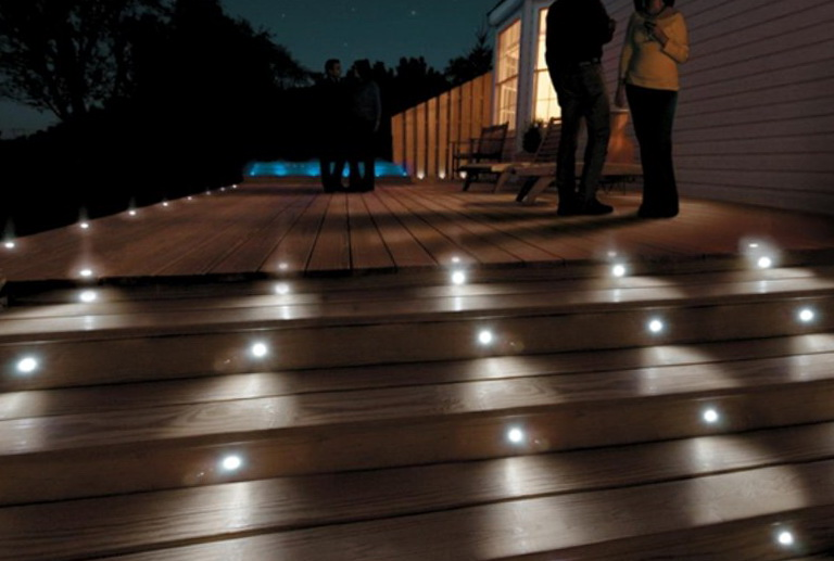 Deck Step Lights Low Voltage Home Design Ideas