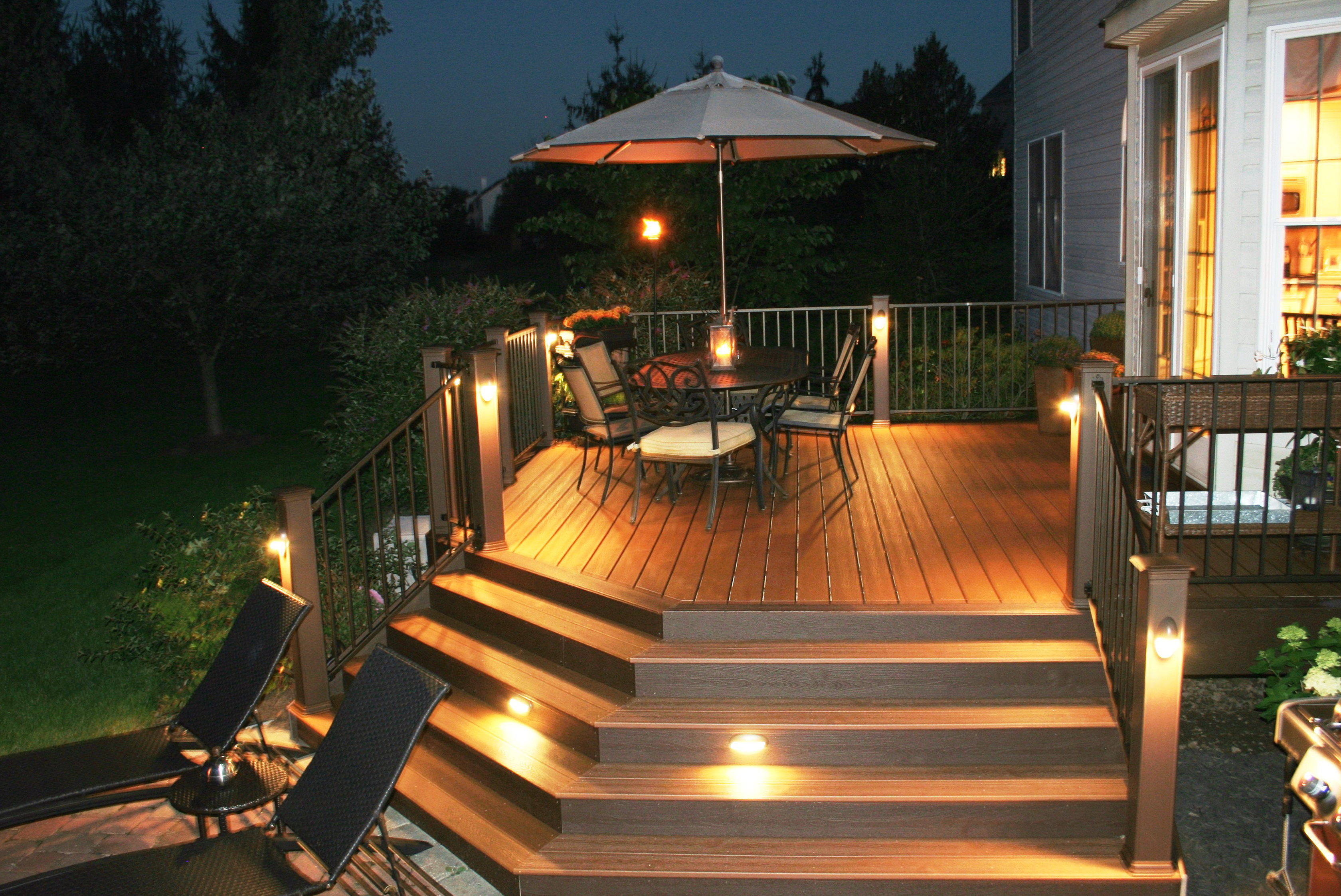 Deck Step Lights Lowes Home Design Ideas