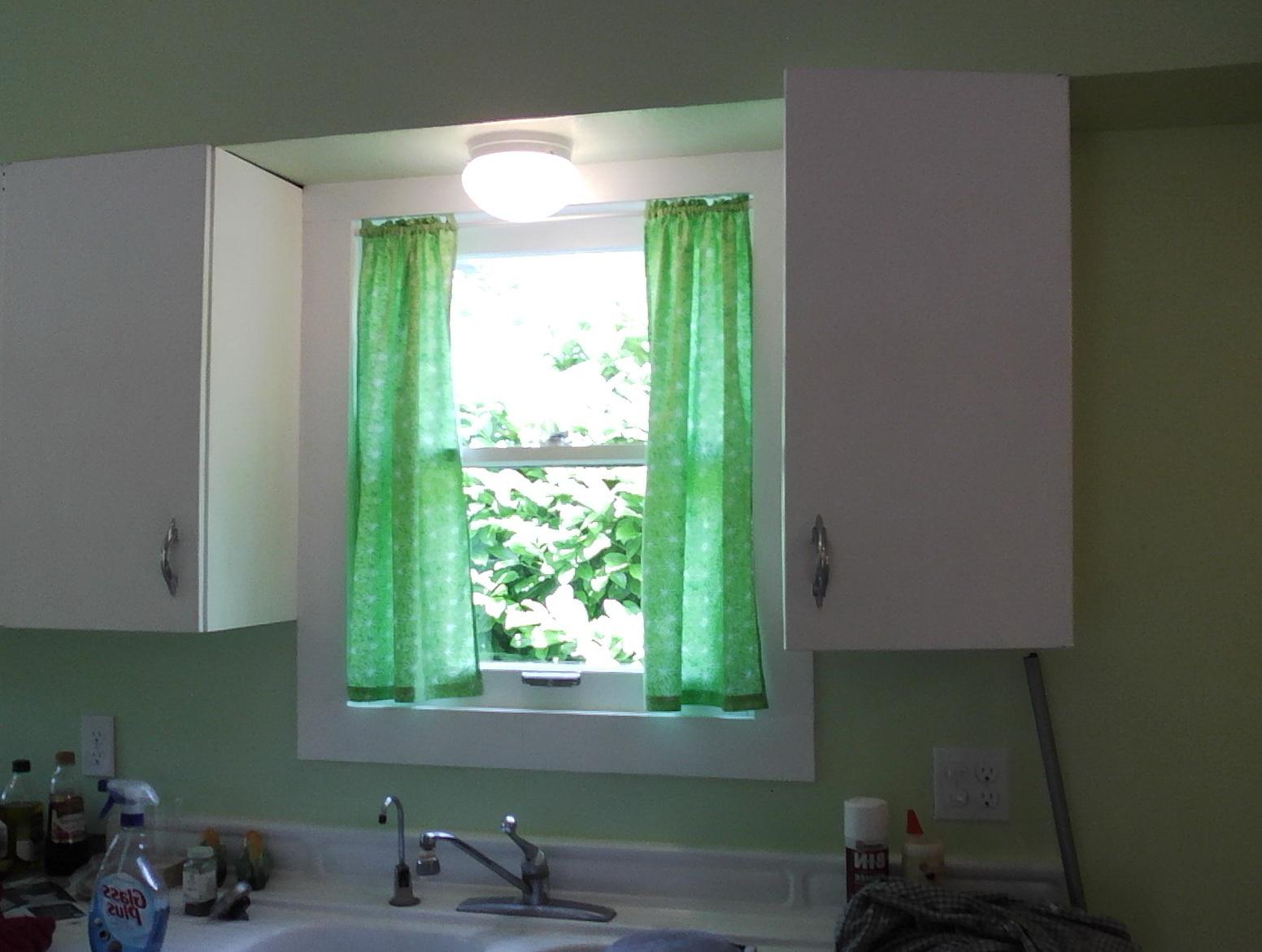 Modern Kitchen Curtains Over Sink Home Design Ideas