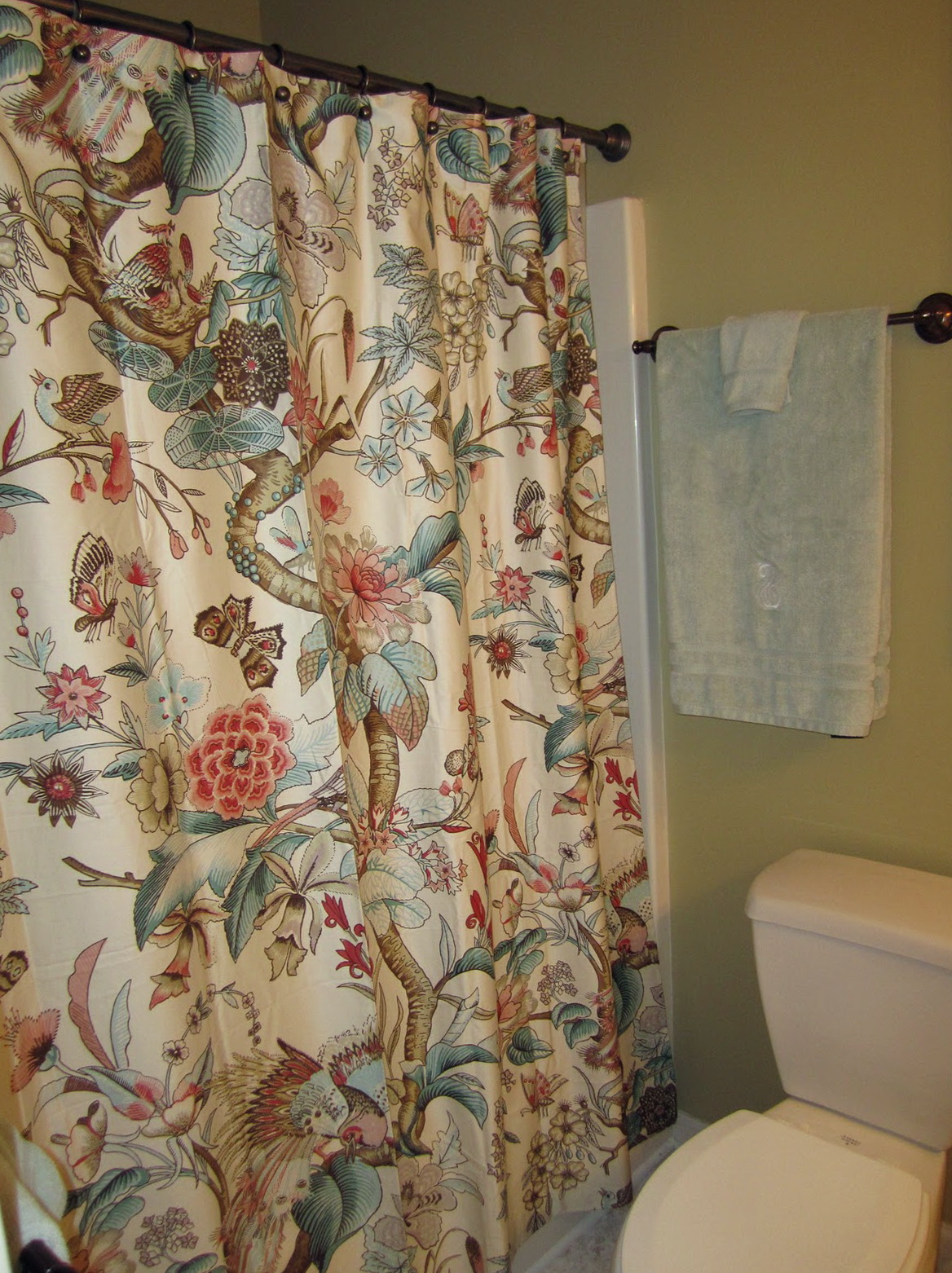 Pottery Barn Butterfly Shower Curtain Home Design Ideas