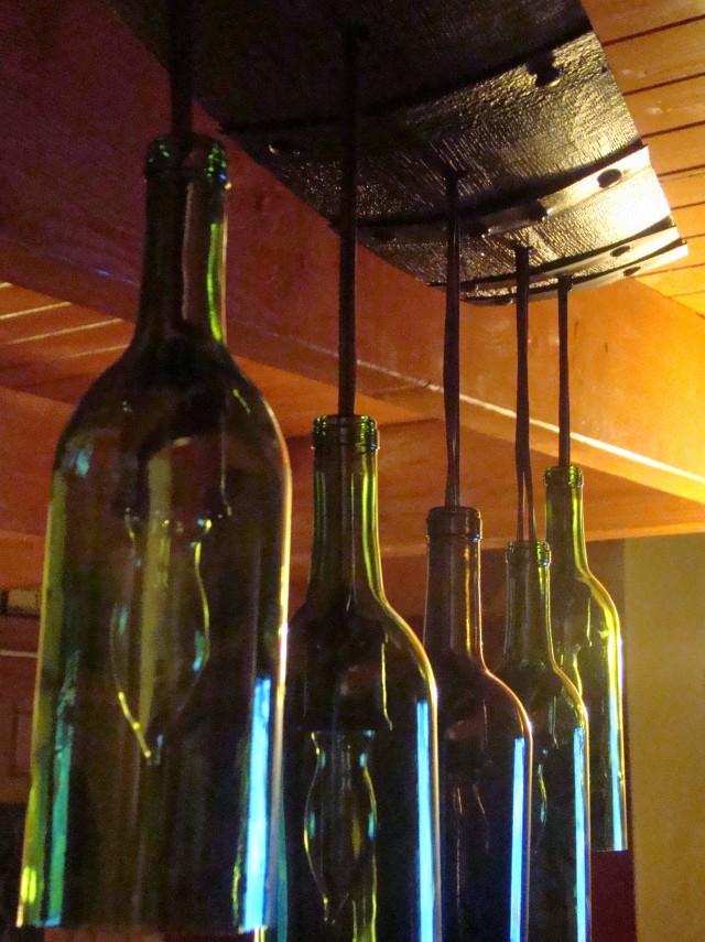 Wine Glass Chandelier Pottery Barn Barrel Bottle