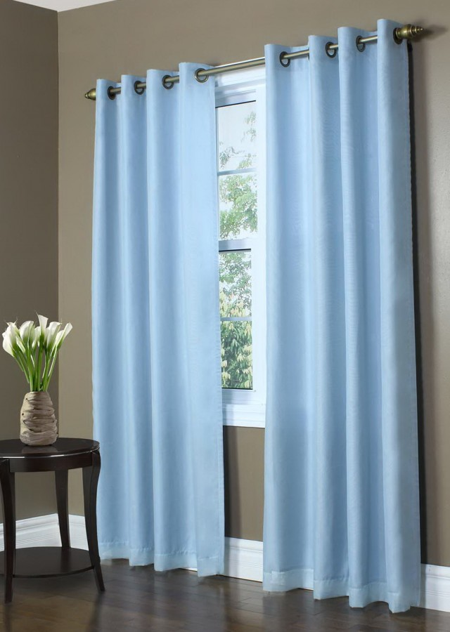 Blue Blackout Curtains 66 X 72 Home Design Ideas
