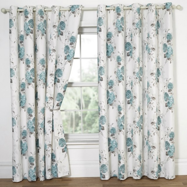 Yellow And Blue Floral Curtains Home Design Ideas