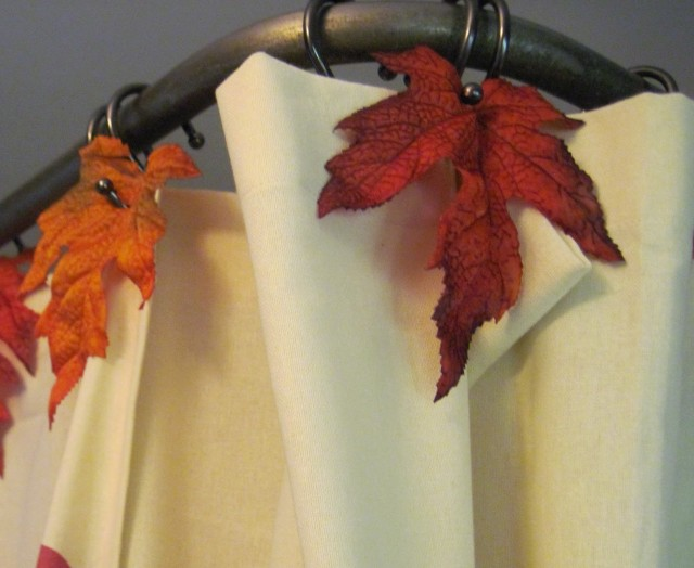 Fall Shower Curtain Set Home Design Ideas