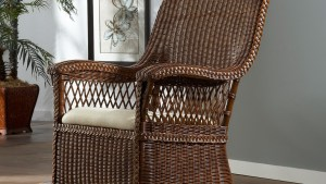 Indoor Wicker Chair Cushions Home Design Ideas