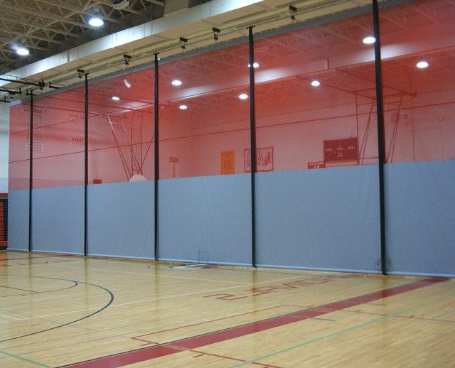 Gym Divider Curtains Motorized Home Design Ideas