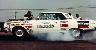 NHRA Superstock Class 1965 283 cubic inch V8 Chevelle