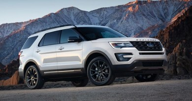 2017 Ford Explorer - Image courtesy of the manufacturer