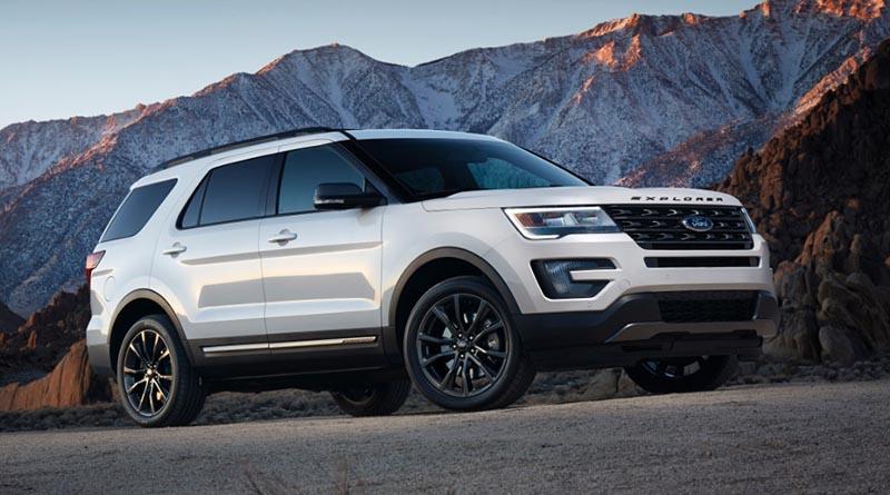 2017 Ford Explorer - Image courtesy of the manufacturer