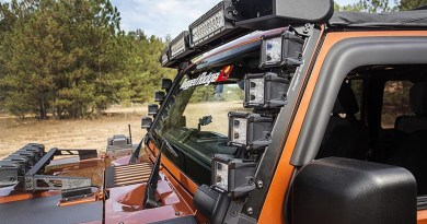 Rugged Ridge Accessories Mount