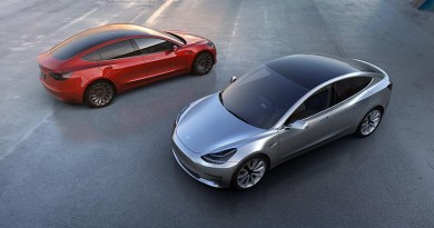 Rise of Electric Car - Tesla Model 3 courtesy of Car and Driver