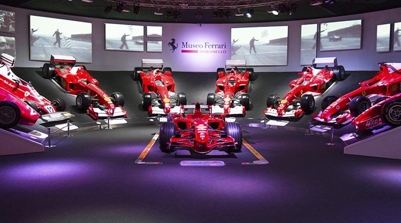 Ferrari Anniversary - Museum