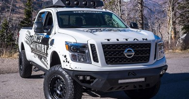 Nissan Titan XD lift and leveling kits
