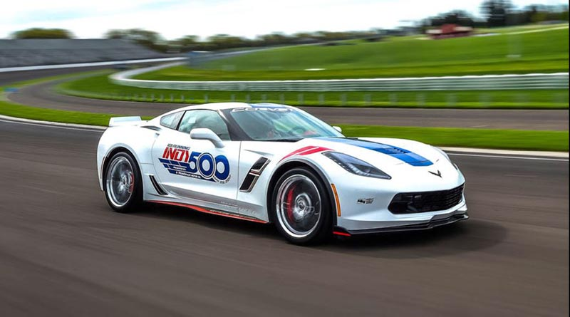 Auto Industry News Indy 500 Corvette - Courtesy of Motor Trend