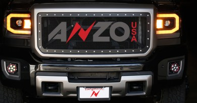 Anzo GMC Sierra Switchback LED Headlights