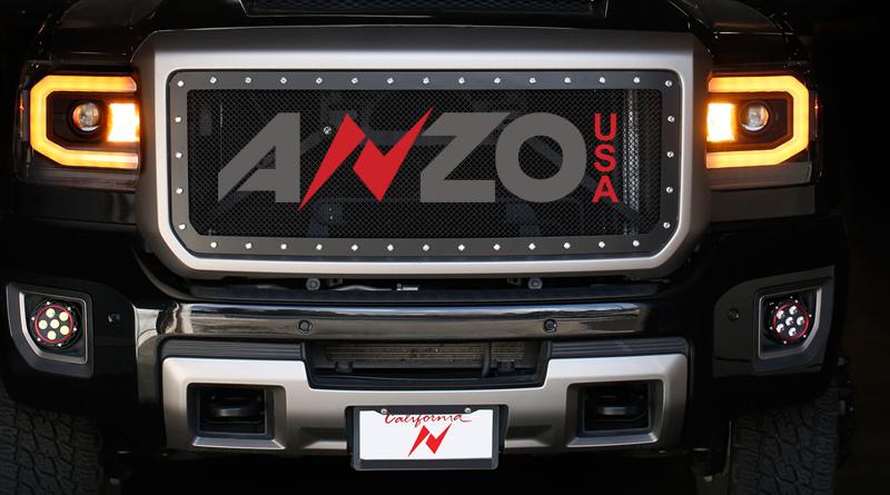 Anzo GMC Sierra Switchback LED Headlights