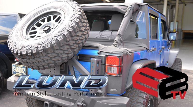 New Jeep JK Products: Bushwacker, Rampage, AMP