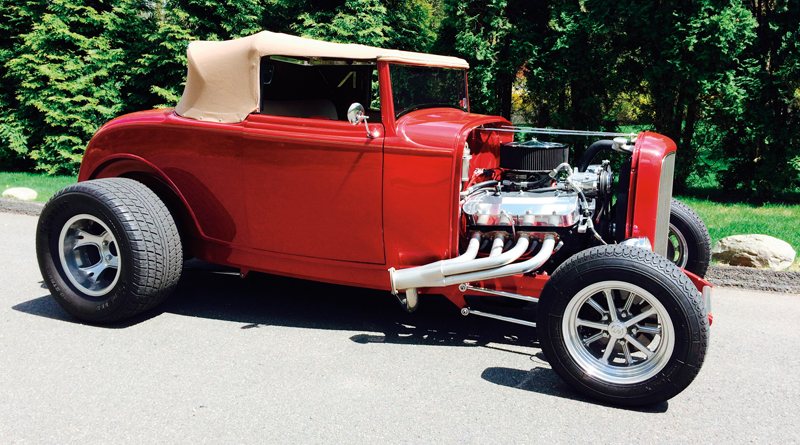 Wanamaker 32 Ford Collection - Red Soft Top