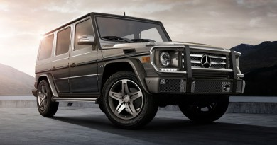 Mercedes G-Class - courtesy of the manufacturer