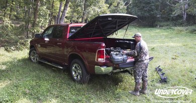 Undercover for outdoorsmen