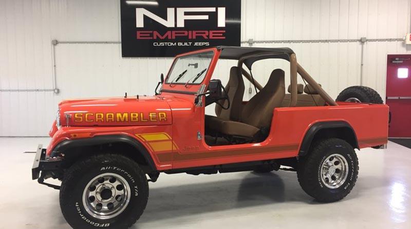 NFI Empire Jeep Scrambler Build
