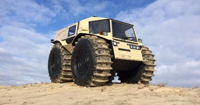 Auto Industry News: Russian Sherp Off Roader, 2019 Chevy Camaro, ZR2 Bison & More
