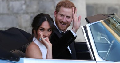 Prince Harry and Meghan Markle cruise off like EV royalty