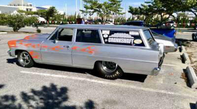 At sea level, he was able to push the Chevy station wagon through the quarter mile in 9.21 seconds at 152 miles per hour.