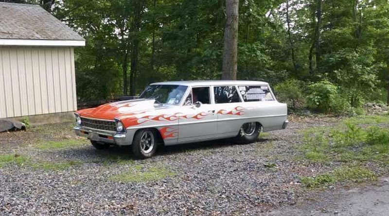 1967 Chevy station wagon spotted in a classifieds listing