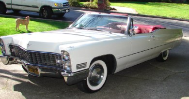 BEST wedding cars - Cadillac Deville Convertible