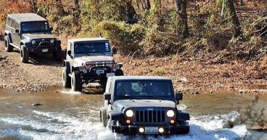 5th Annual Jeep Jamboree in the Ozarks