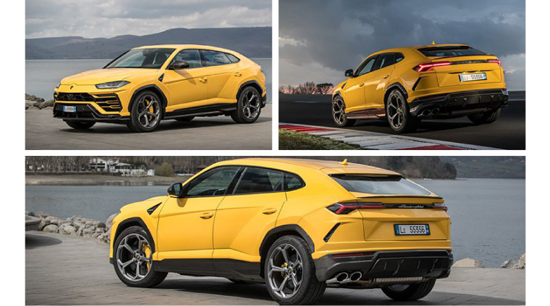 Meet the all-new Lamborghini Urus