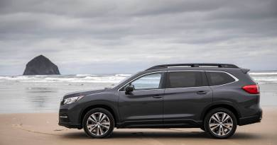 What's big enough to seat eight and has over a dozen cup holders to accommodate the soccer team? The 2019 Subaru Ascent, of course. Photo Cred: motor1.com