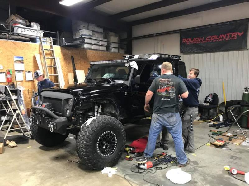Bound by faith, family, and a passion for wrenching.