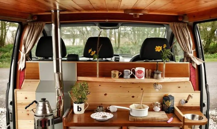 Welcome to the camper van life. Let's take a tour!