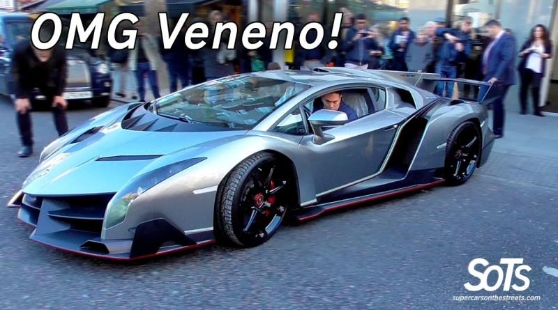Set your sights on the Lambo Veneno... posh, rare, expensive.