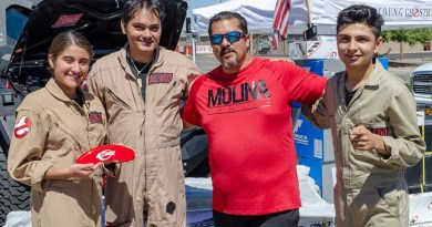 Carlos Molina of Projekt Cars presents Y.O.U.N.G Ghostbusters with $20,000 in free truck accessories.