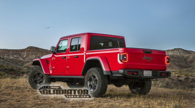 Jeep Gladiator Hype More Leaks The Engine Block