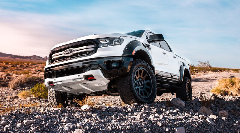 """So, here's the first up in our list of """"Best in Show"""" for the everyday enthusiast, featuring Air Design USA's 2019 Ford Ranger SEMA build."""