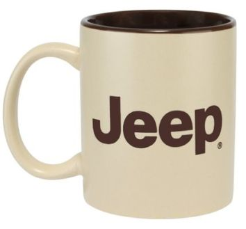This JEEP novelty mug makes our short list of stocking stuffers for car lovers.